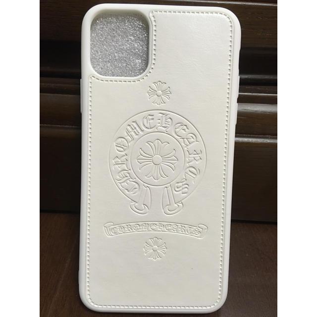 シュプリーム iPhone 11 ProMax ケース かわいい 、 iphone  11 スマホケース 人気のタイプクロムハーツ【ホワイト】 の通販 by luxury house's shop|ラクマ