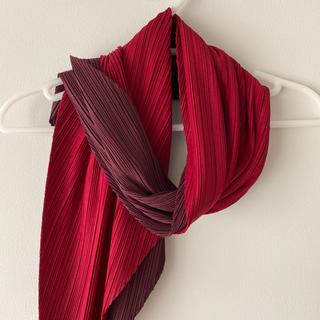 イッセイミヤケ(ISSEY MIYAKE)のISSEY MIYAKE スカーフ 2トーン・カラー(バンダナ/スカーフ)