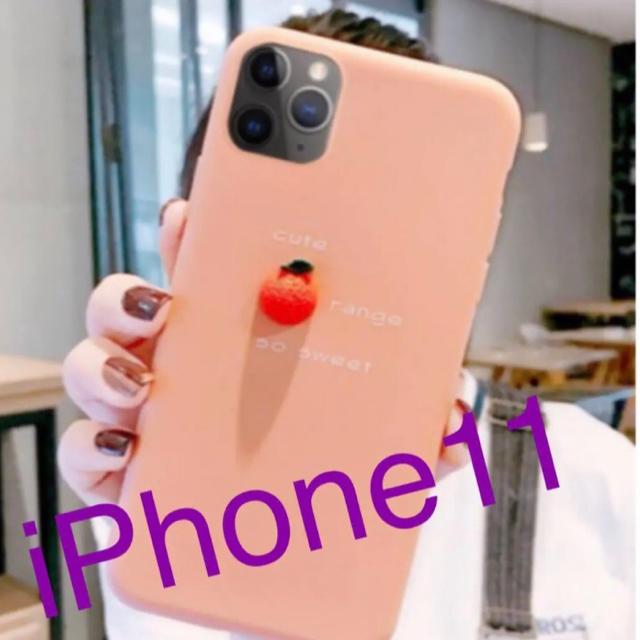 iPhone11 オレンジ 人気 ケース 韓国の通販 by ままSHOP|ラクマ