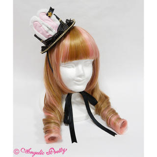 Angelic Pretty - Angelic pretty Merry Bunnyミニハット クロ