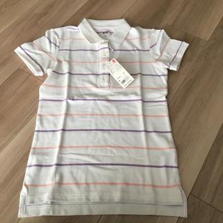 UNIQLO - 新品 半袖ポロシャツ  レディース ユニクロ S