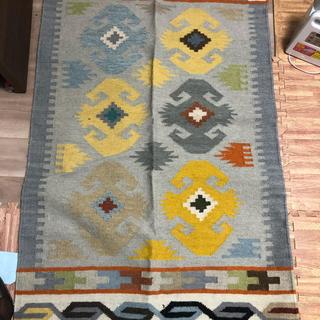 アクタス(ACTUS)のイデー キリム キリムラグ 絨毯(ラグ)
