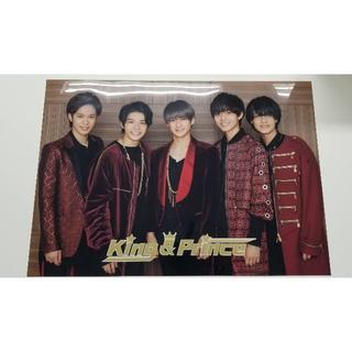 ジャニーズ(Johnny's)のKing&Prince A3 クリアポスター(ミュージシャン)