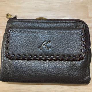 キタムラ(Kitamura)の キタムラ2 Kitamura 口金二つ折り財布 《ブラウン》(財布)