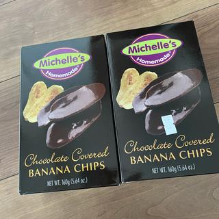 ミシェル バナナチップス チョコレート(菓子/デザート)