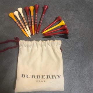 バーバリー(BURBERRY)のバーバリーゴルフ ウッドティー レア❣️(その他)