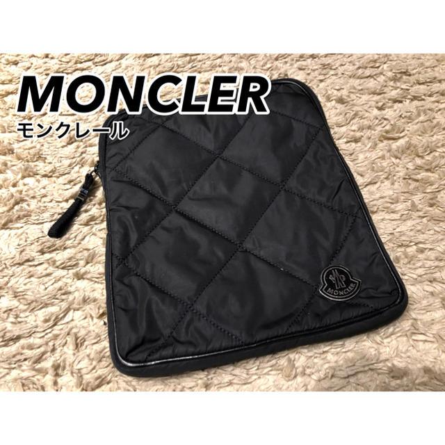 MONCLER(モンクレール)の【即日発送/正規品】MONCLER モンクレール ポーチ バック タブレット メンズのバッグ(セカンドバッグ/クラッチバッグ)の商品写真