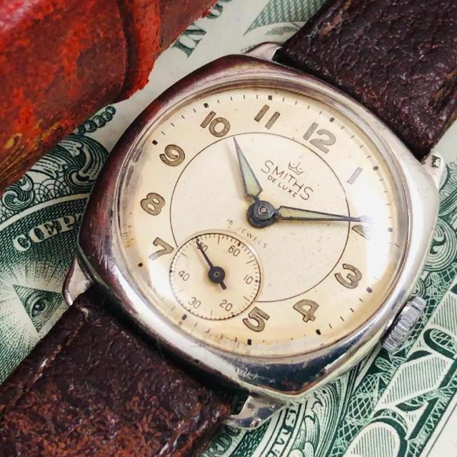 ヴァシュロンコンスタンタン コピー 映画 - SMITH - スミス アンティーク スモールセコンド 腕時計の通販