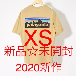 パタゴニア(patagonia)のパタゴニア Tシャツ ベージュ タン XS メンズ レディース 新作(Tシャツ/カットソー(半袖/袖なし))
