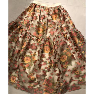 ドゥロワー(Drawer)のblamink  スカート ブラミンク(ロングスカート)