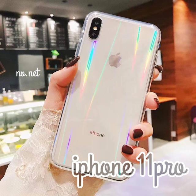 iphone 11 pro max ケース dior | iPhone11pro クリア オーロラ iPhoneケース新品未使用の通販 by nonoshita|ラクマ