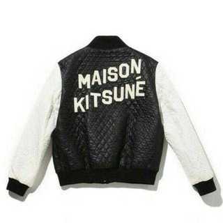 メゾンキツネ(MAISON KITSUNE')のMaison KITSUNE テディブルゾン スタジャン アクネ(ブルゾン)