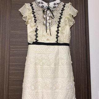 ローブ(ROBE)のローブドフルール ドレス(ミニドレス)