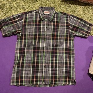 マックレガー(McGREGOR)のMcGREGOR チェック半袖シャツ (シャツ)