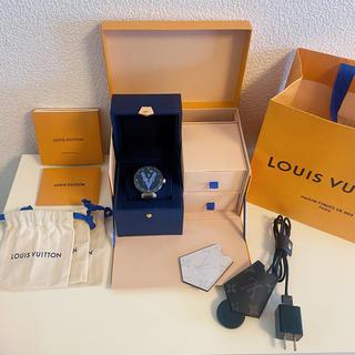 ルイヴィトン(LOUIS VUITTON)の美品★ルイヴィトン コネクテッドウォッチ タンブールホライゾンV2(腕時計(デジタル))