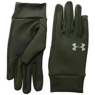 アンダーアーマー(UNDER ARMOUR)の40%オフ アンダーアーマー 手袋 LG グリーン グローブ 防寒 メンズ 冬用(手袋)