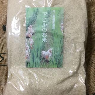 アヒルのお米5㎏【白米】元年度岡山県備前市産真空パック(米/穀物)
