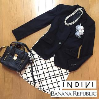 INDIVI - インディヴィ バナナリパブリック スーツ ママスーツ セットアップ 入学式