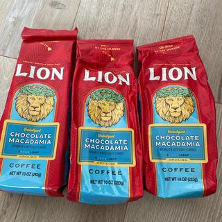 LION - ハワイのライオンコーヒーチョコレートマカダミア283g3個セット