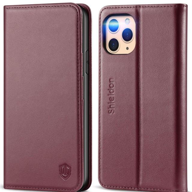 iphoneカバー シャネル 、 SHIELDON iPhone 11 Pro 本革ケース 未使用の通販 by Tony's shop|ラクマ