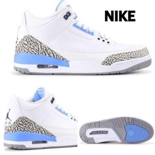 ナイキ(NIKE)の29.5㎝ Nike Air Jordan 3 Retro UNC ジョーダン(スニーカー)