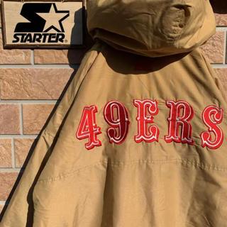 STARTER × San Francisco 49ERS(ナイロンジャケット)