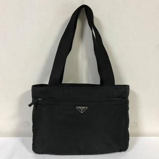 プラダ(PRADA)の本物プラダPRADAナイロンデカボストンバットートバックビジネスバッグ黒(ボストンバッグ)
