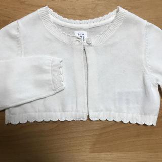 ベビーギャップ(babyGAP)のbaby GAP 新品ボレロカーディガン 80(カーディガン/ボレロ)
