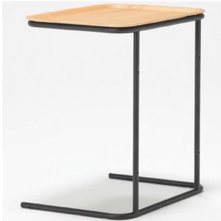 ムジルシリョウヒン(MUJI (無印良品))の無印良品 スチールトレーサイドテーブル(コーヒーテーブル/サイドテーブル)