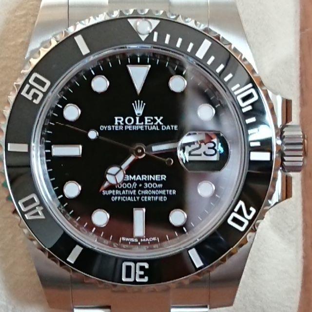 ROLEX - 最後の値下げ!ロレックス サブマリーナデイトナ 116610LN(国内正規品)の通販