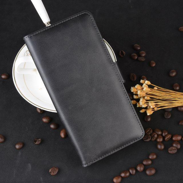 iPhone11 Pro (5.8インチ) ブラック 手帳型 レザーケース の通販 by 666market's shop|ラクマ