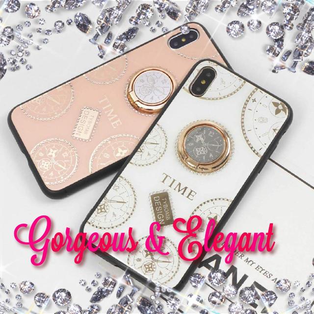 iphone6 PLUS ケース シャネル 香水 | 【エレガントなiPhoneケース】 7/8 X/XS 11 11Pro リング付の通販 by JJ|ラクマ