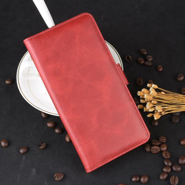 吉田カバン iphone ケース - iPhone Pro11 (5.8インチ) ワインレッド 手帳型 レザーケース の通販 by 666market's shop|ラクマ
