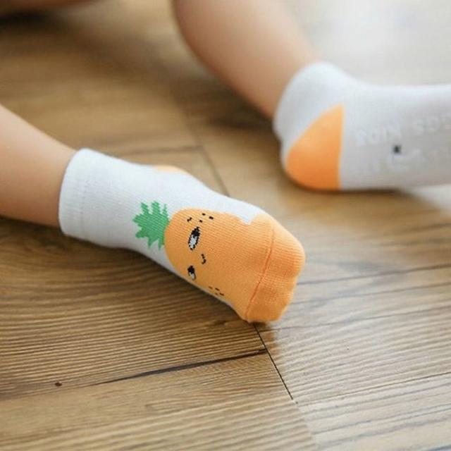 petitNATS❤ニヤ②果物《9〜11cm》〔ms18002-s〕 キッズ/ベビー/マタニティのこども用ファッション小物(靴下/タイツ)の商品写真