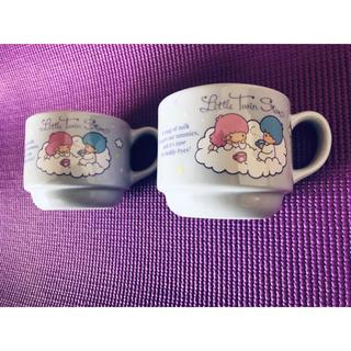 リトルツインスターズ(リトルツインスターズ)のキキララ☆ミニマグカップ2セット(グラス/カップ)