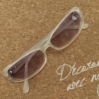 アンタイトル(UNTITLED)のアンタイトル サングラス 薄色 小さめ(サングラス/メガネ)