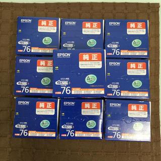 エプソン(EPSON)のEPSON IC4CL76 インクカートリッジ(新品・未使用品)(PC周辺機器)