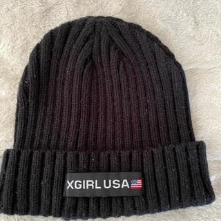 X-girl - X-GIRL ニット帽