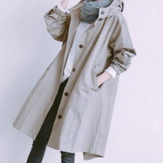 オーバーコート レディースコート コート L(トレンチコート)