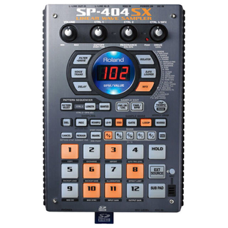 ローランド(Roland)のRoland SP-404SX 音ネタ入りSDカード8GB付き(その他)
