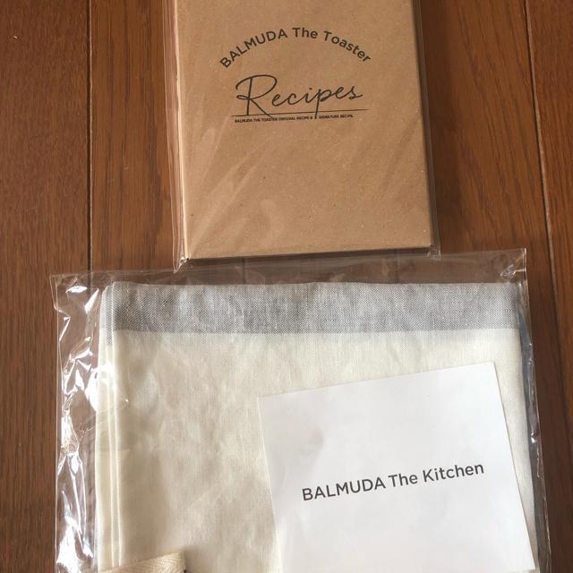 BALMUDA(バルミューダ)のバルミューダ レシピカード キッチンクロス インテリア/住まい/日用品のキッチン/食器(収納/キッチン雑貨)の商品写真