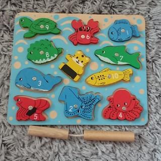 しまじろうの魚釣り(知育玩具)