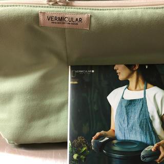 バーミキュラ(Vermicular)のバーミキュラ ライスポット ヒートキーパー レシピ本なし オーガニックコットン(調理道具/製菓道具)