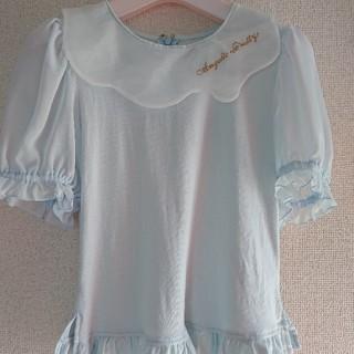 アンジェリックプリティー(Angelic Pretty)のAngelic Pretty meltyカットソー サックス(カットソー(半袖/袖なし))