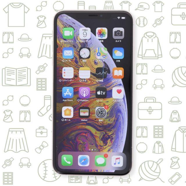 iPhone(アイフォーン)の【A】iPhoneXSMax/256/ドコモ スマホ/家電/カメラのスマートフォン/携帯電話(スマートフォン本体)の商品写真