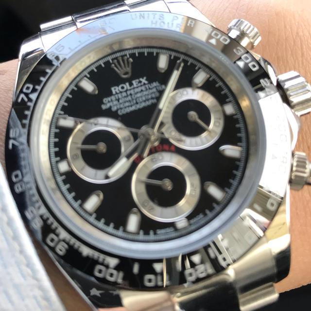 デイトナモデル メンズ腕時計 ROLEXタイプの通販