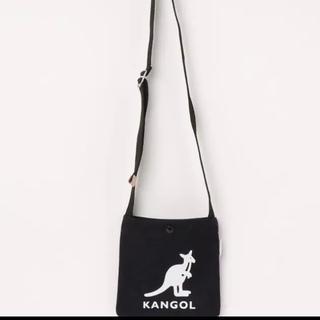 カンゴール(KANGOL)の【KANGOL】キャンバス mini サコッシュ ショルダーバッグ(ショルダーバッグ)