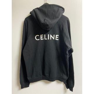 セリーヌ(celine)のセリーヌ バックロゴ クラシックフーディ Black XXL(パーカー)