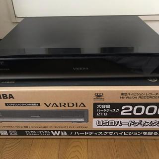 東芝 - ジャンク 】TOSHIBA VARDIA RD-X9