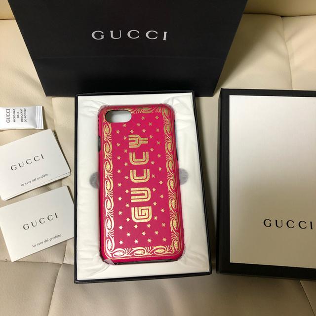 Gucci - 新品 ♡GUCCI♡ GUCCY iphone7 8 ケースの通販
